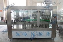 24头灌装机 啤酒三合一灌装机 玻璃瓶拉环盖啤酒灌裝设备 青岛啤酒生产线